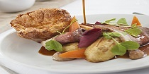 Sunday Lunch at the Two Bridges Hotel, Dartmoor, Devon