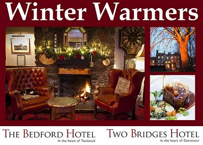 Winter breaks at the Two Bridges Hotel and The Bedford Hotel