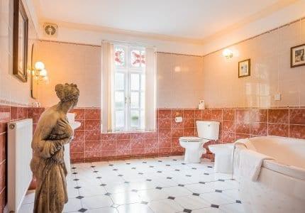 Luxury Bathroom with Spa Bath