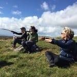 Nordic Walking on Dartmoor