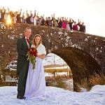 Winter wedding at the Two Bridges Hotel