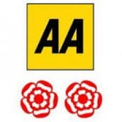 AA 2 Rosette Award for Fine Dining