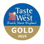 Taste of the West Gold Award logo