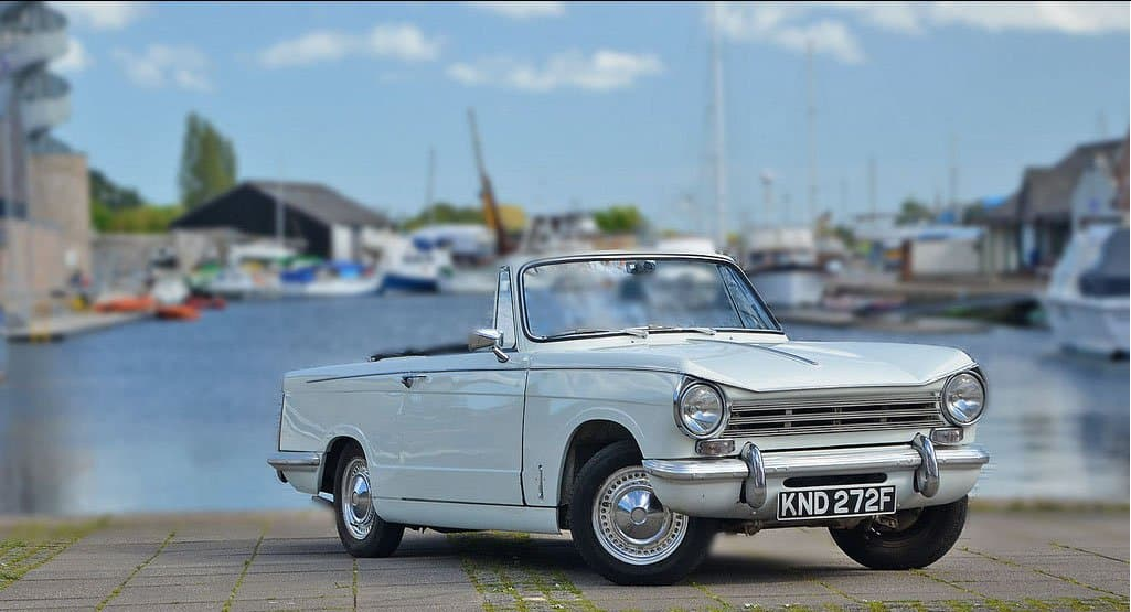 Triumph Herald for hire