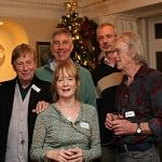 Christmas drinks party