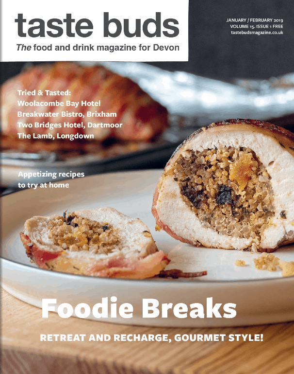 Taste Buds magazine cover