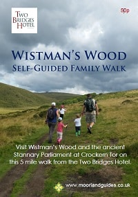 Wistmans Wood walk guide and map