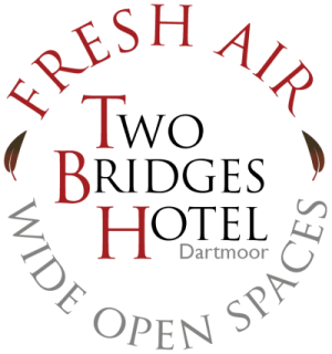 Fresh air and wide open spaces logo for two bridges hotel